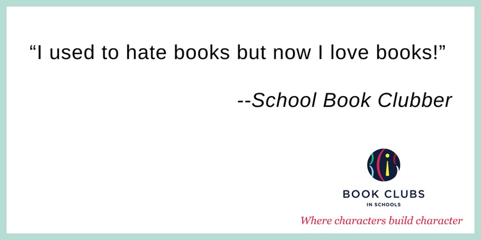 This made us smile. Lovely feedback from one of our book club students! #bookclubbanter #readingforpleasure #booksbuildcharacter