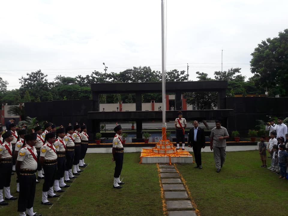 #OPJU celebrated 72nd Independence day. <br>http://pic.twitter.com/2clXIOtas2