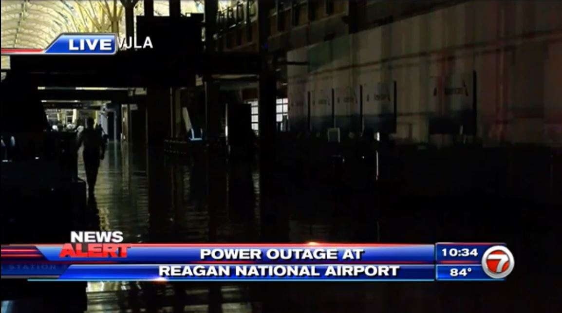 #DEVELOPING: Power outage leaves passengers stranded at Reagan National Airport https://t.co/3ZrMu4IXRu