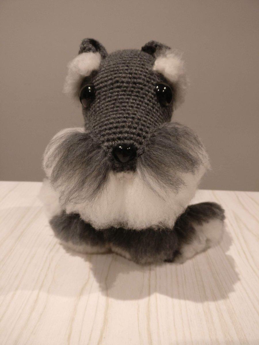 Schnauzer dog amigurumi pattern 1 (1) - free cross stitch patterns ... | 1200x900