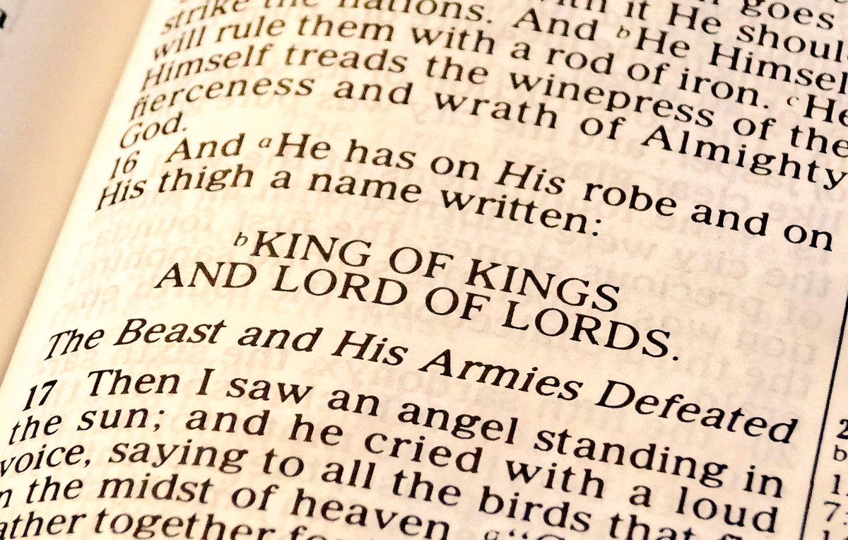 """Shane Seniour on Twitter: """"He had a name written that no one knew except Himself. He was clothed with a robe dipped in blood, and His name is called The Word of"""
