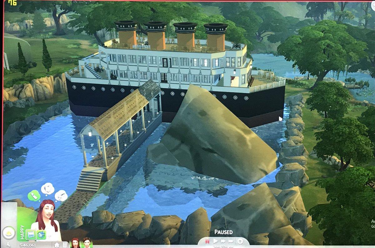 Titanic The Sims 4