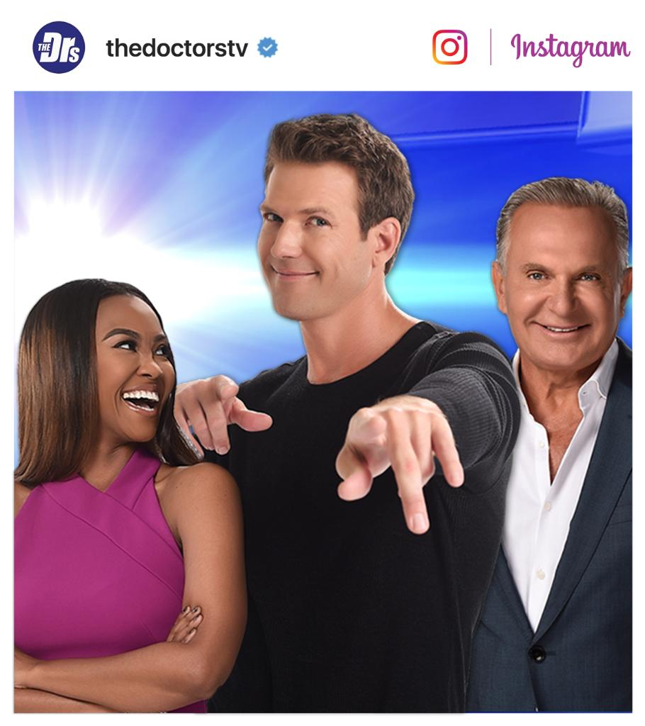 Love watching #TheDoctors? Follow us on Instagram for #bts photos & videos! https://t.co/rMxivollbK