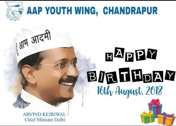 Happy Birthday Arvind Kejriwal Sir.. we proud of you..