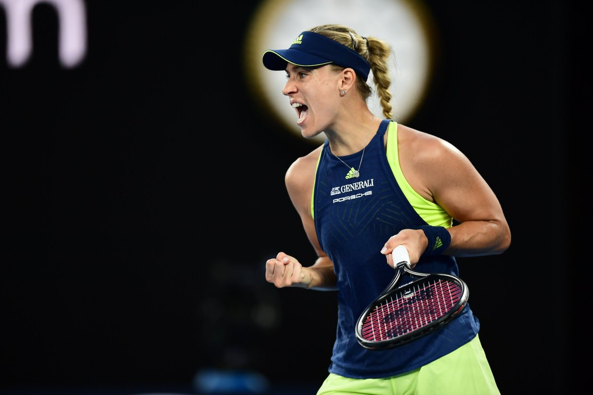 40 wins and counting for @AngeliqueKerber in 2018. #AusOpen<br>http://pic.twitter.com/8n2yX87Imq
