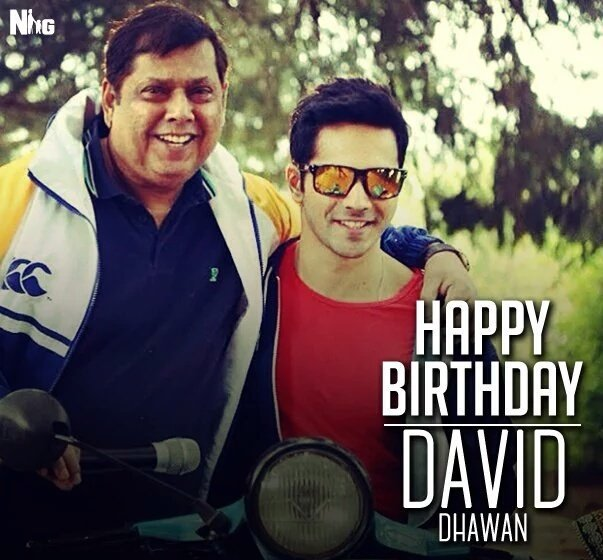 Happy birthday mere pyaare David Dhawan sir ... Love to and and also
