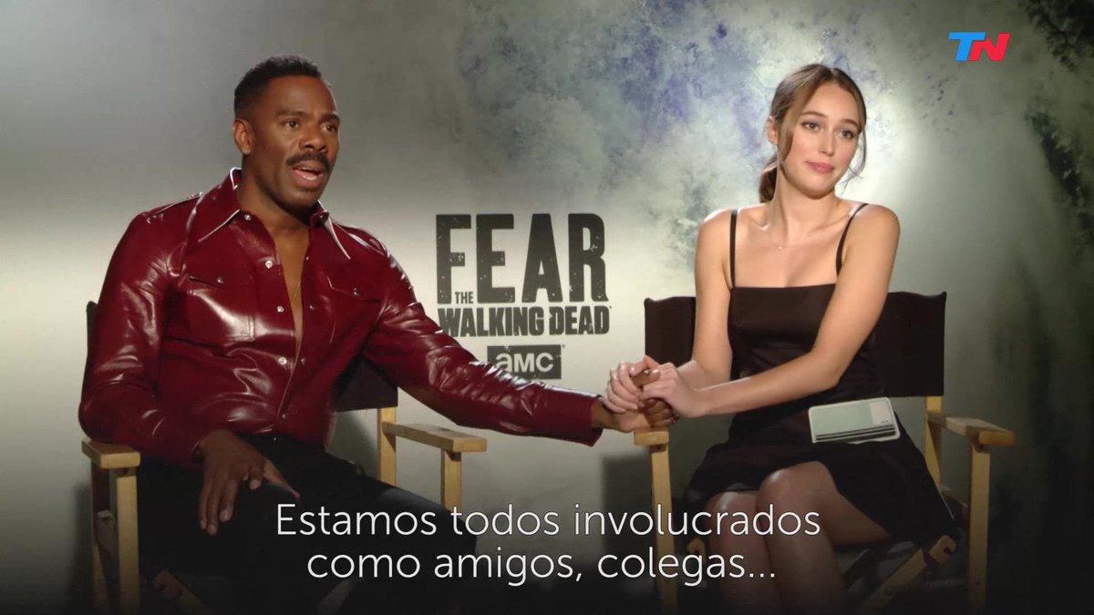 #FearTWD S4: TN - Alycia Debnam-Carey &amp; Colman Domingo Interview   https:// youtu.be/OZg6PwIaPKk  &nbsp;  <br>http://pic.twitter.com/aTicHHvVBs