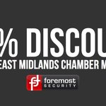 Image for the Tweet beginning: East Midlands Chamber members can