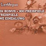 Image for the Tweet beginning: Leo Vegas 20 free spins no