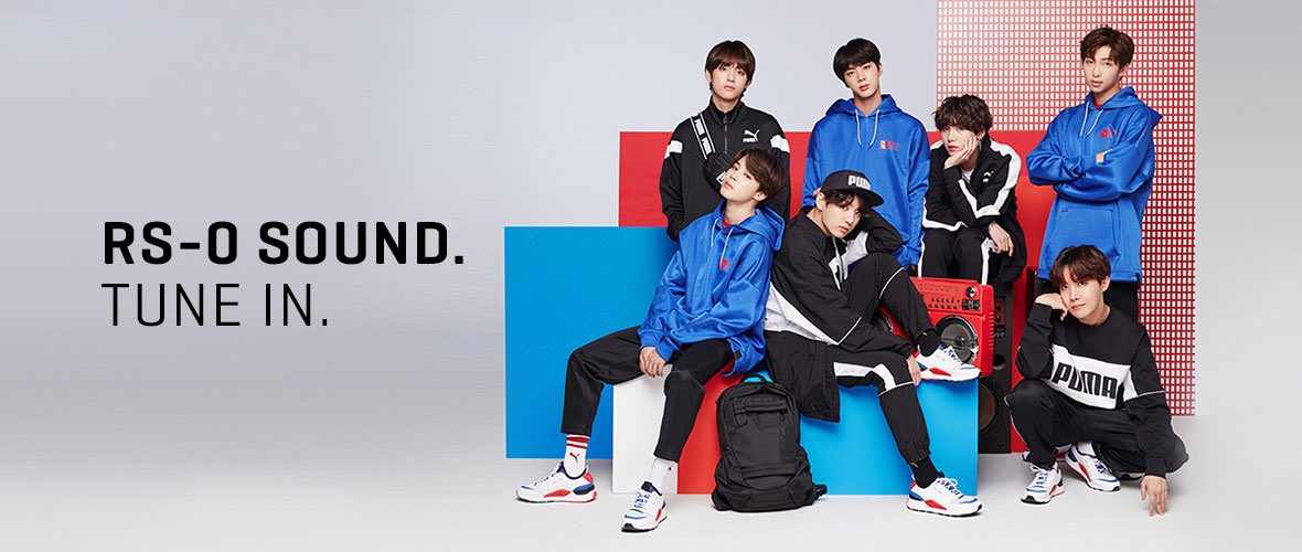BTS X PUMA RS-0 SOUND #방탄소년단