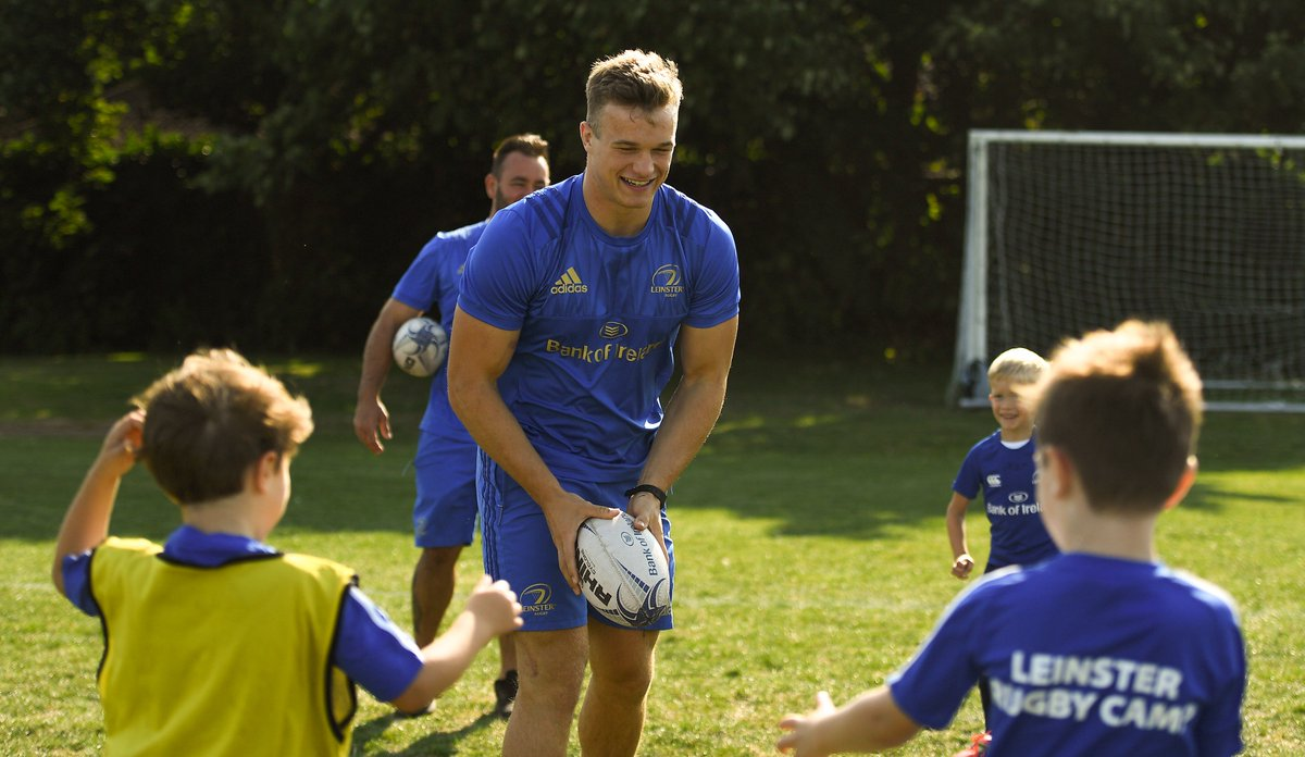 .@joshvdf &amp; @Benty425 called into the kids yesterday at the @bankofireland #LeinsterRugby Summer Camp in @BCRFC   Check out the full gallery:  http:// bit.ly/2OBRZPs  &nbsp;    #FromTheGroundUp #BOIrugby<br>http://pic.twitter.com/mlxgDUAjz6