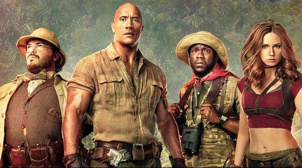 Jumanji. Bienvenidos a la jungla, proposta aquesta nit del Cinema entre Palmeres: elcastell.org/ca/index/13124…