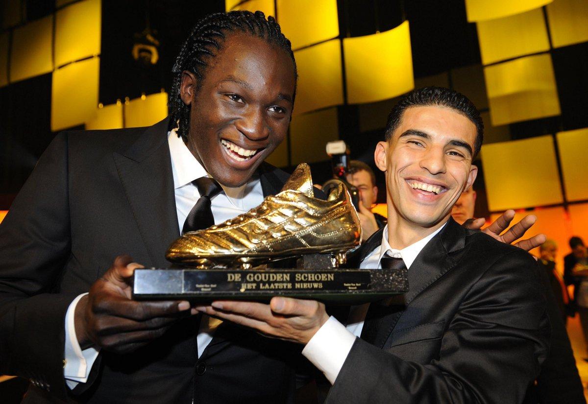 Anderlecht stars Romelu Lukaku & Mbark Boussoufa back in 2011 🏆 #UEL #ThrowbackThursday