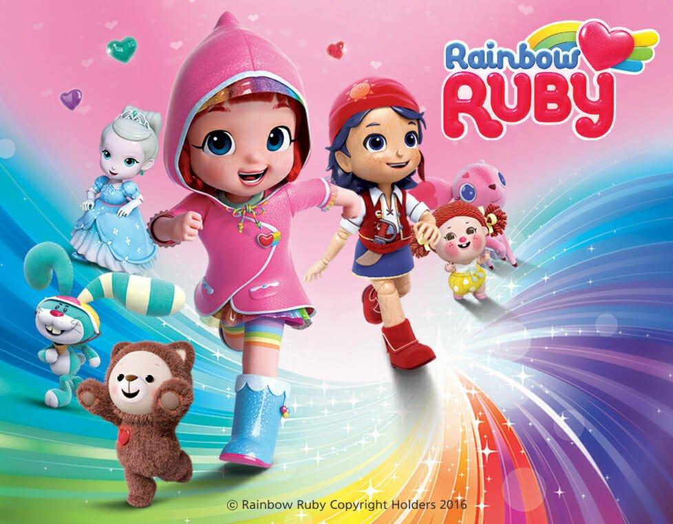 35+ Gambar Hitam Putih Rainbow Ruby