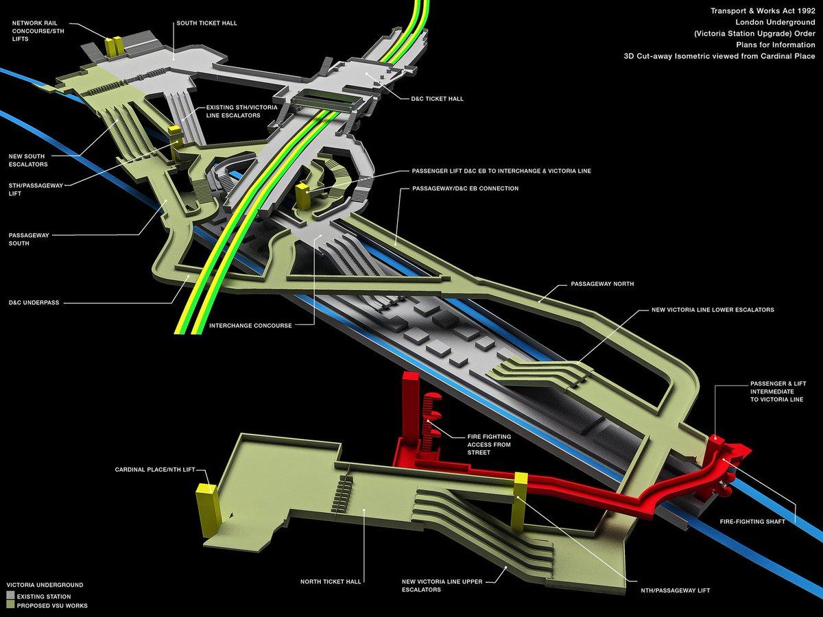 Dkt8urOXoAAc8zb?format=jpg&name=medium - Victoria tube station - construction & upgrade