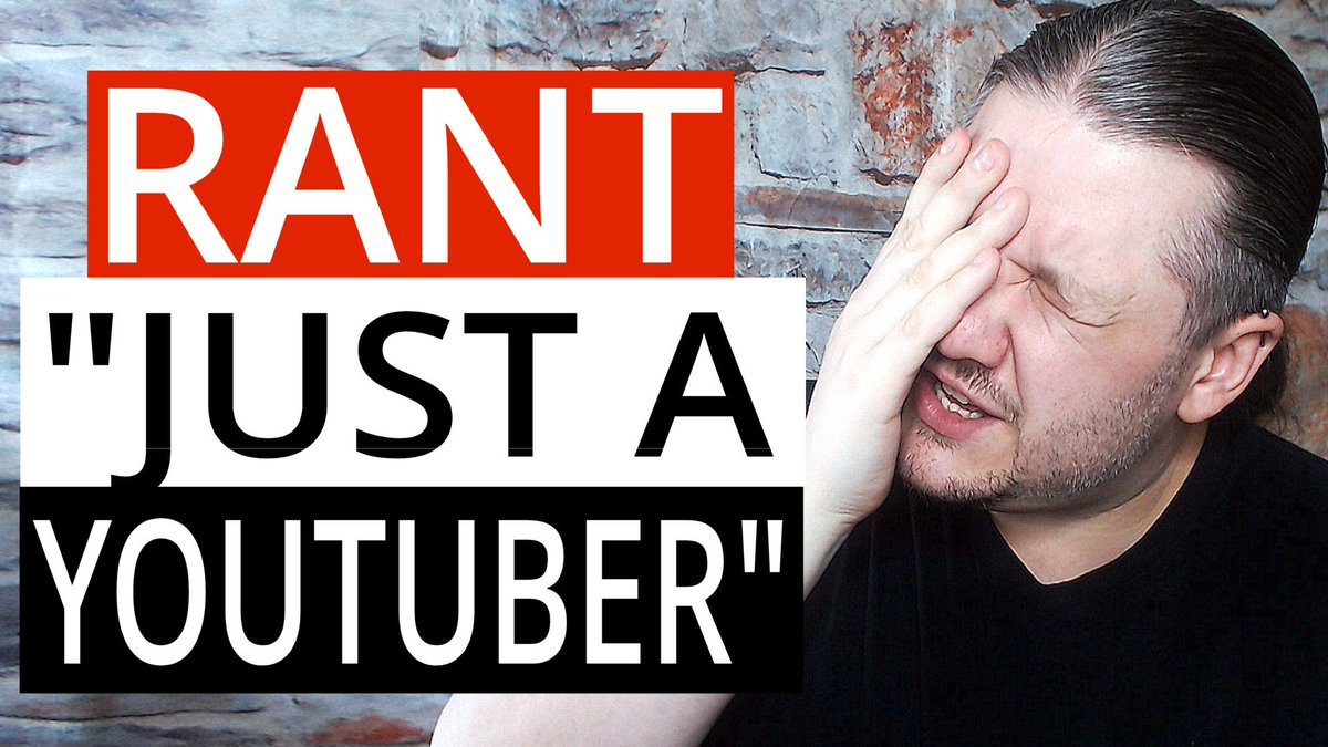 &quot;Just A YouTuber&quot; - #RANT ~ Don&#39;t under estimate the dedication and skills needed to be a #YouTuber  VIDEO =  https://www. youtube.com/watch?v=metVmy Wp96g &nbsp; …  =   #newyoutuber #smallyoutuber #smallyoutuberarmy #youtuberproblems #youtuber #youtubercommunity #startcreating #video #ImACreator #nosmallcreator<br>http://pic.twitter.com/gJelp6lF9C