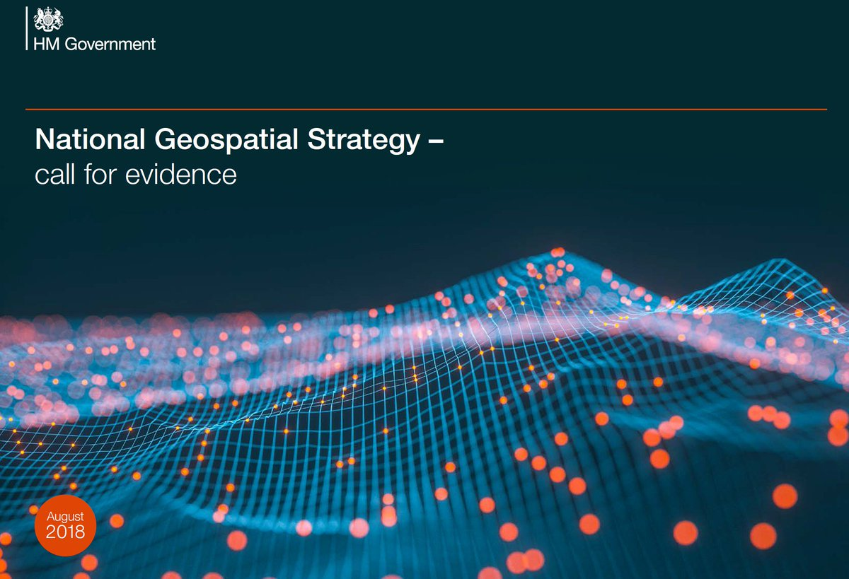 The #National #Geospatial #Strategy has the potential to be highly transformative to the investment and property industry. Make your voice heard. Especially Q11,17-20. 24th Oct deadline @GOVUK, @cabinetofficeuk @DLidington #opendata   http:// bit.ly/2MjVCNd  &nbsp;  <br>http://pic.twitter.com/MIcsoMxdFp