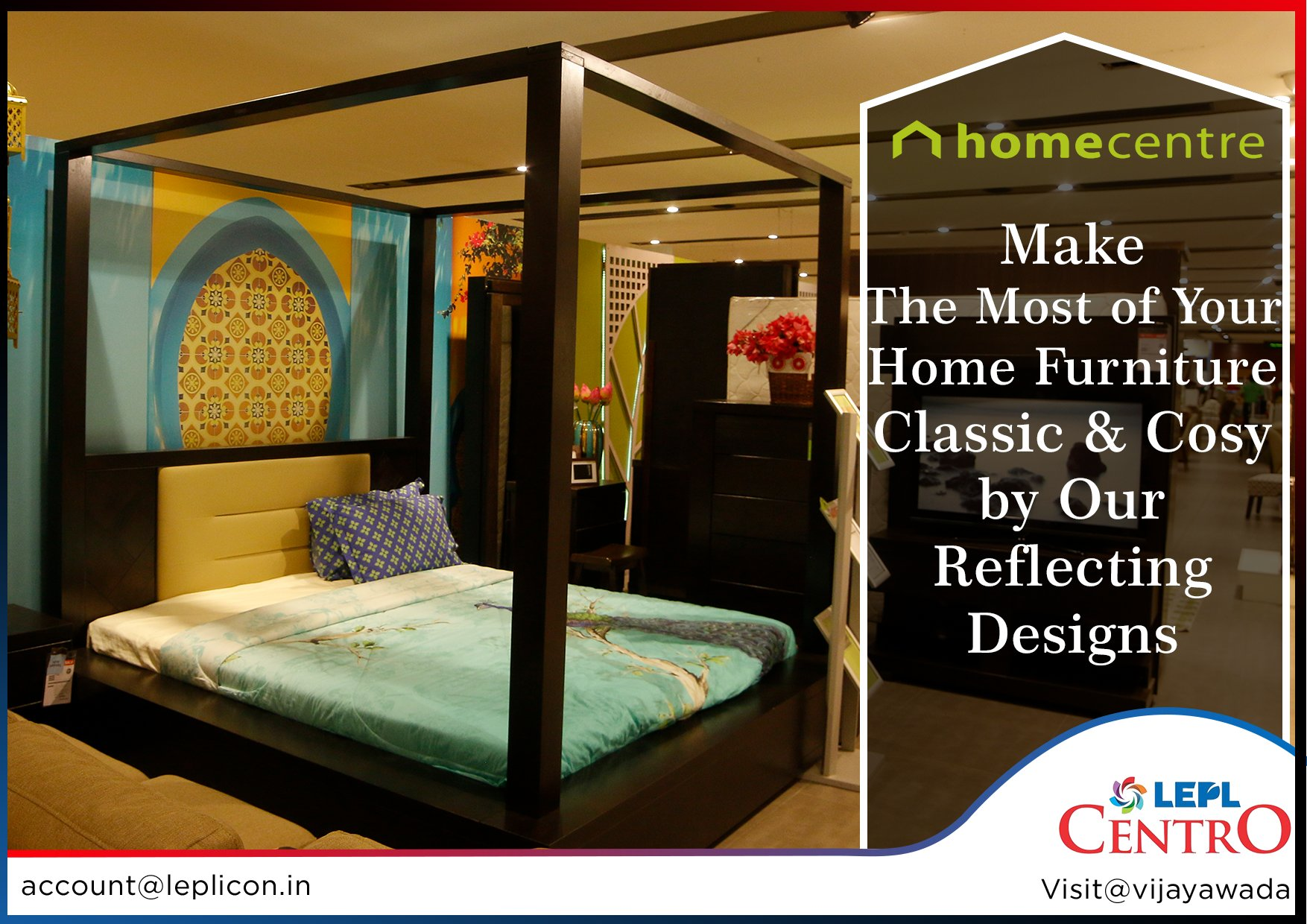 Lepl Centro On Twitter Make The Most Of Your Homefurniture Classic Cosy By Our Reflecting Designs Home Centre In Leplcentro Vijayawada India Homedecor Interiordesign Bedroom Furniture Https T Co 339tm1rxhj