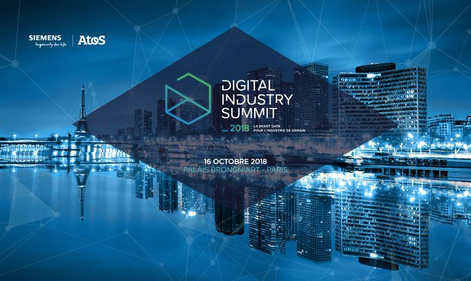 #DigitalIndustrySummit Industriels, rendez-vous le 16 octobre prochain au Palais...