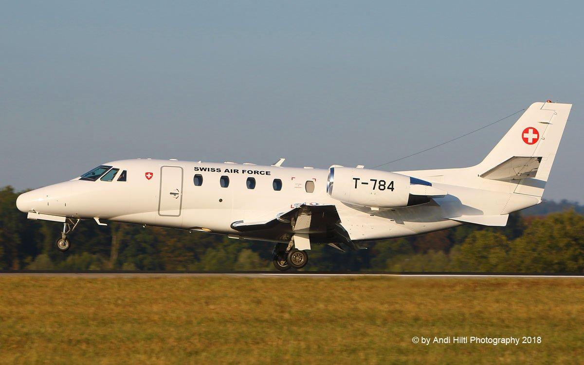 Swiss Air Force Cessna 560XL Citation Excel T-784 / ZRH 15. August 2018 <br>http://pic.twitter.com/JgItef0psF