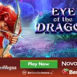 Image for the Tweet beginning: LeoVegas Casino adds Novomatic's New