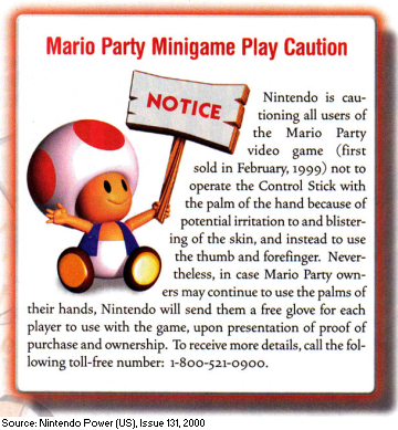 Image result for mario party gloves
