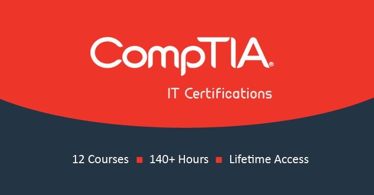 New Deal — Get CompTIA Certification Training Only For $59   https://t.co/p7B1Ggbs6d  Bundle Includes 12 Courses:  CompTIA A+ .. Security+ .. Cybersecurity Analyst .. Cloud+ .. Cloud Essentials .. IT Fundamentals .. Linux+ .. Mobility .. Advanced Security Practitioner .. Network+