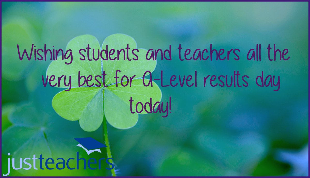 test Twitter Media - Sending all the best of luck on A-Level results day today from everyone here Justteachers teaching agency #teachers #students #resultsday #university https://t.co/DQTwhdqQvY