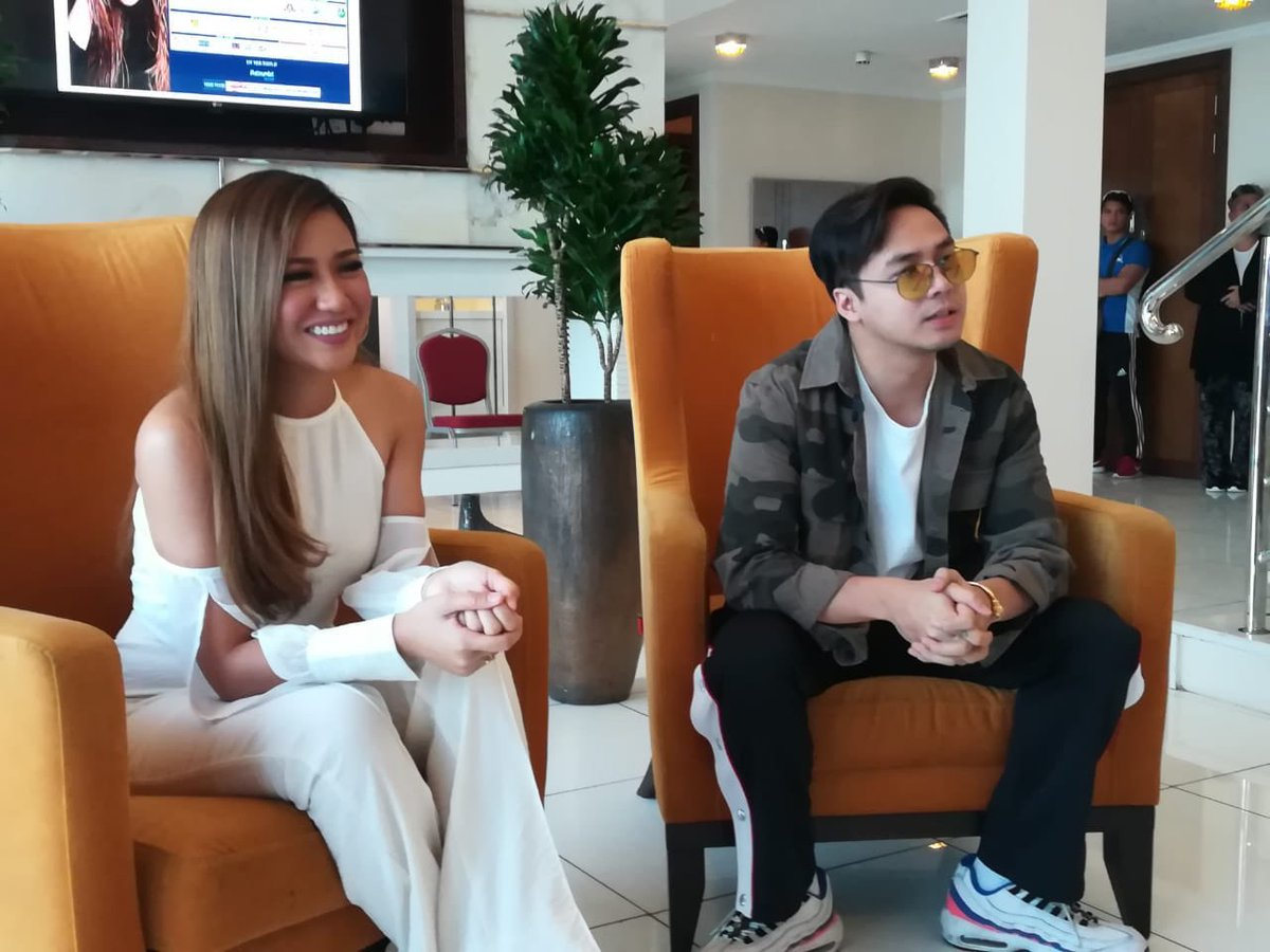 We are in Dubai today with Filipino pop star @itsMorissette ahead of her show tomorrow, with her special guest performer @sam_concepcion.