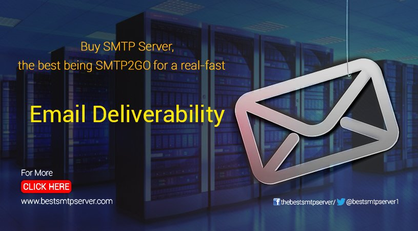 Best SMTP Server (@bestsmtpserver1) | Twitter