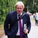 Image for the Tweet beginning: Boris Johnson's trip to avoid