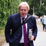 Image for the Tweet beginning: Boris Johnson's trip to avoid
