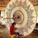 素敵な工芸品がミャンマーに!ヨーロッパで愛されるエキゾチックなパラソル!