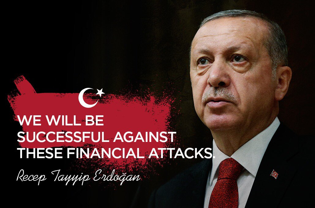We, the Turkish Nation, stand with our democratically President @RT_Erdogan against all attacks.   #TurkeyWillPrevail<br>http://pic.twitter.com/z5jyId2Q7I
