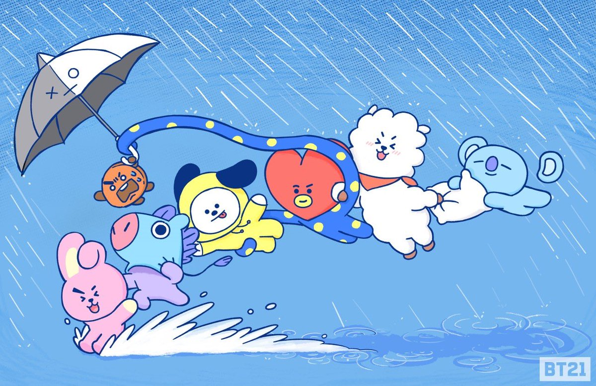 BT21's photo on #Teamwork