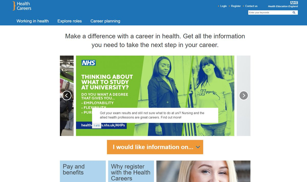Good luck to those finding out their A-Level results today. If you're interested in pursuing a career in the NHS, the health careers website has some useful info: https://t.co/6lgGPahvzv #alevelresults2018 https://t.co/7F2Teh72nc