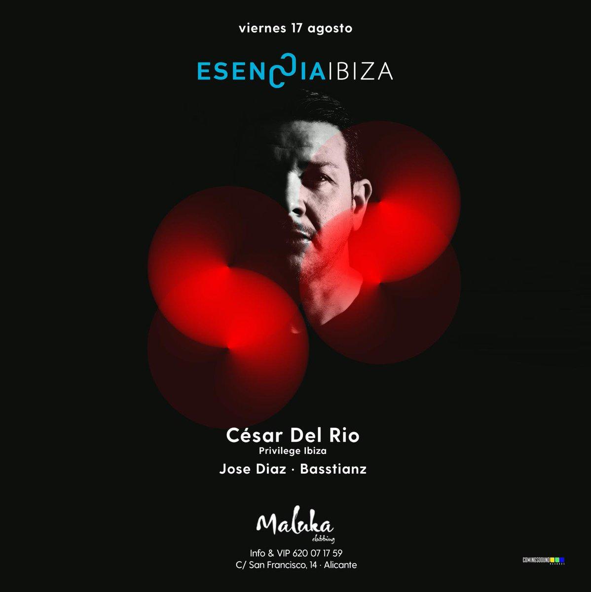 Can't wait for tomorrow #EsencciaIbiza at Maluka Club #Alicante   #Tour2018 #party #partytime #dance #music #friends #privilege #esenccia #Ibiza #electronicmusic #Techno #techhouse #underground #undergroundartist #tickets #TICKET    http:// bit.ly/2w6XiinEsencci aIbizaatMaluka &nbsp; … <br>http://pic.twitter.com/fSPzalsyFb