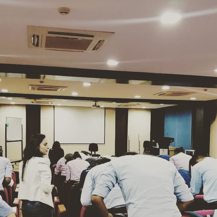 Mindful movements... Honored to be a part of the orientation program at ROYAL GLOBAL UNIVERSITY. Baby steps towards building a  self aware generation, one heart at a time.  .#education and training #yogalove #happyheart #happyworld #school #mindfulness #teachersofinstagram<br>http://pic.twitter.com/bFKMCTpkoj