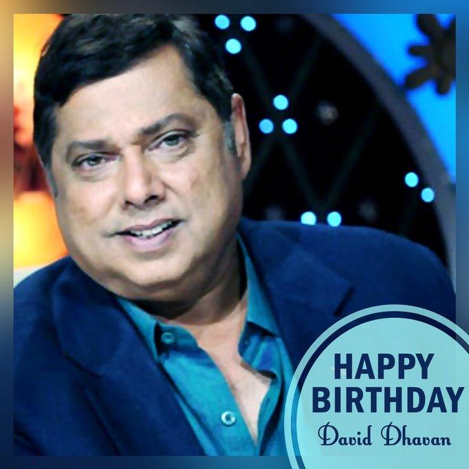 Happy Birthday to the king of comedy David Dhawan Sir