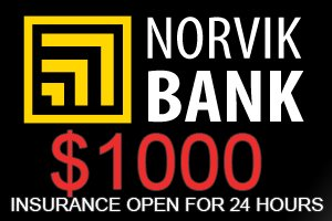 Image for NORVIK BANK Insurance OPEN!