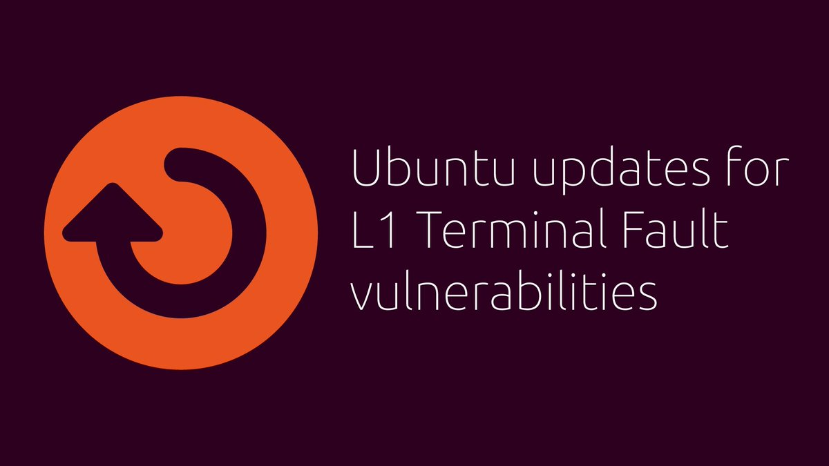 #Ubuntu, #Debian, #RedHat Enterprise Linux, and #CentOS #Linux Patched Against &quot;Foreshadow&quot; Attacks, Update Now  https:// buff.ly/2BhyM3K  &nbsp;   #infosec #infosecurity <br>http://pic.twitter.com/LPDglhej14