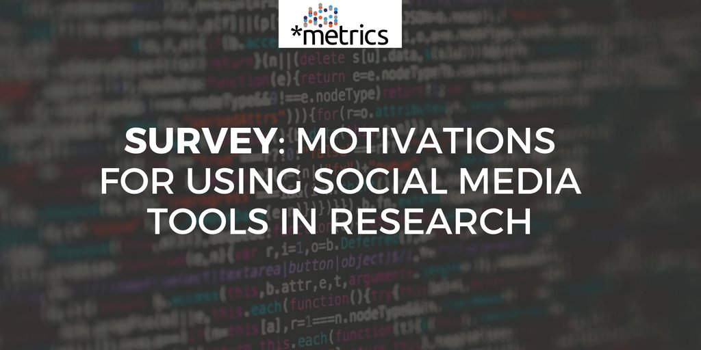 We would like to invite you to participate in our survey. If you have published articles in the field of Economics or Social Sciences we would be very pleased if you told us about your motivations for using Social Media Tools in Research:  https:// tigereye.informatik.uni-kiel.de/limesurvey/ind ex.php/258123?lang=en &nbsp; …  #altmetrics<br>http://pic.twitter.com/py3CsVh7e1