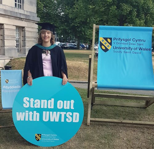 &quot;The lecturers were easy to talk to, they explained everything. Our course had quite small class sizes, so it was a lot easier to ask questions.&quot; #UWTSDgrad Charlotte Rowlands. #Clearing #UCAS #ALevelResults Call us on 0300 323 1828 @uwtsd  http://www. uwtsd.ac.uk/clearing/  &nbsp;  <br>http://pic.twitter.com/uRMASqQJ6t