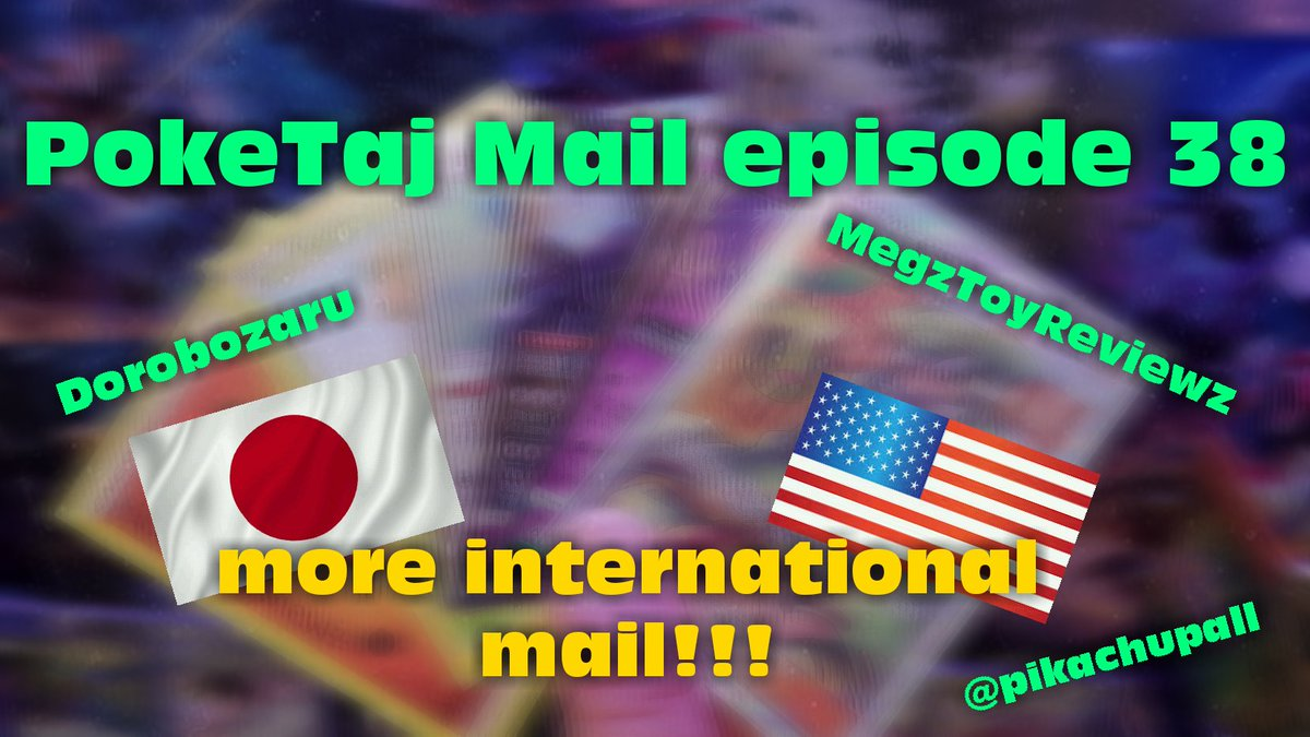 Latest episode of PokeTaj Mail video featuring mail from @dorobozaru and @Maldrich487. Check it out if you haven&#39;t already!  https:// youtu.be/aZ0o3RPcn4w  &nbsp;    #PokeTaj #pokemon #pokemongx #pokemontcg #gx #tcg #youtube #youtuber #subscribe #PokemonMail #PokemonCards<br>http://pic.twitter.com/lBtk5AwPDO
