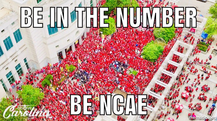 The power of many. Join us @NCAE #InThisTogether #NCAEStrong <br>http://pic.twitter.com/5RktFaaCwP