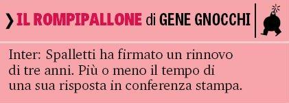 LE PERLE DI GENE #FCInter #spalletti #ForzaInter #GazzettaDelloSport #Inter #Gazzetta #News #Calciomercato  - Ukustom