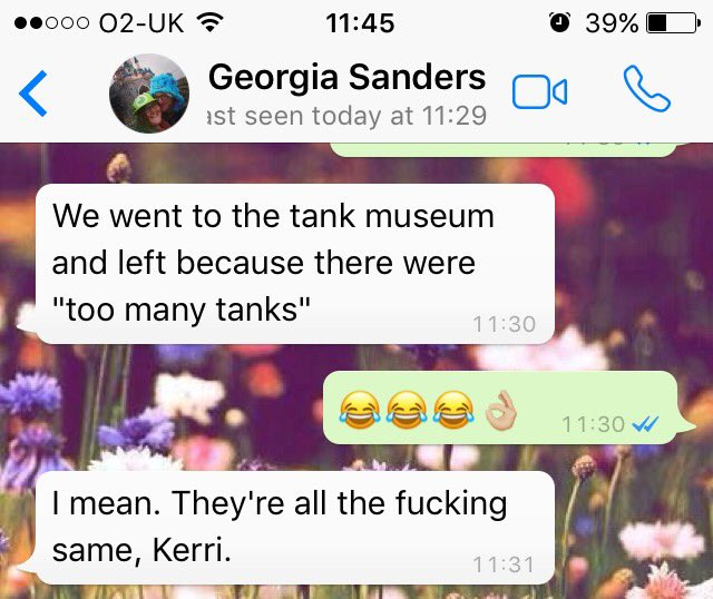 Tanks. They're all the same.