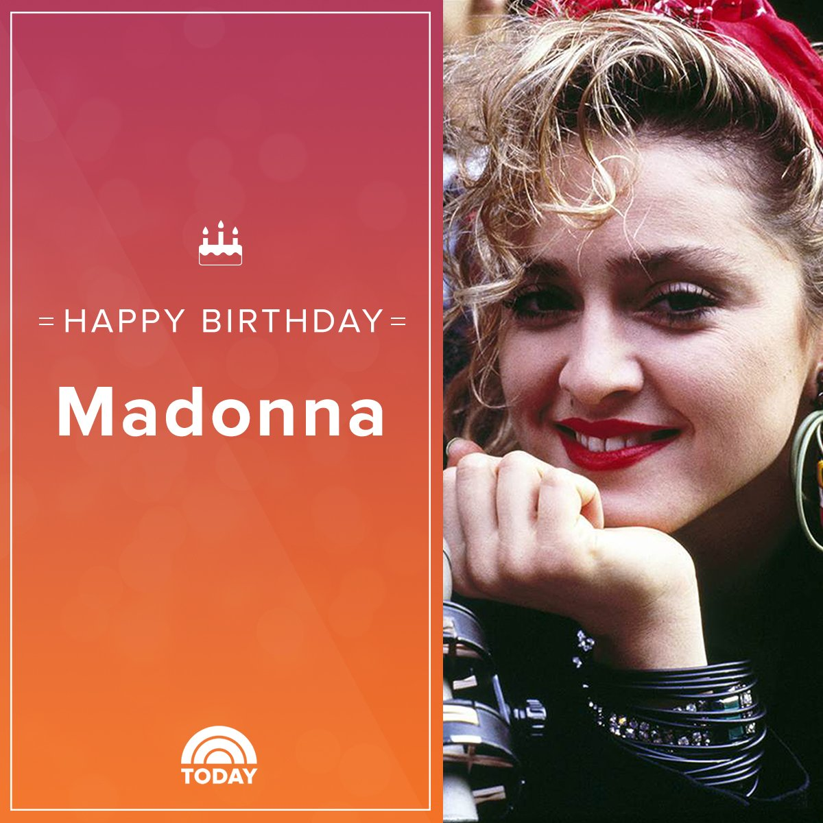 Happy 60th birthday, Madonna!