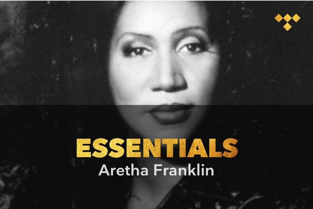 Aretha Franklin Essentials tdl.sh/15gBFh #TIDAL