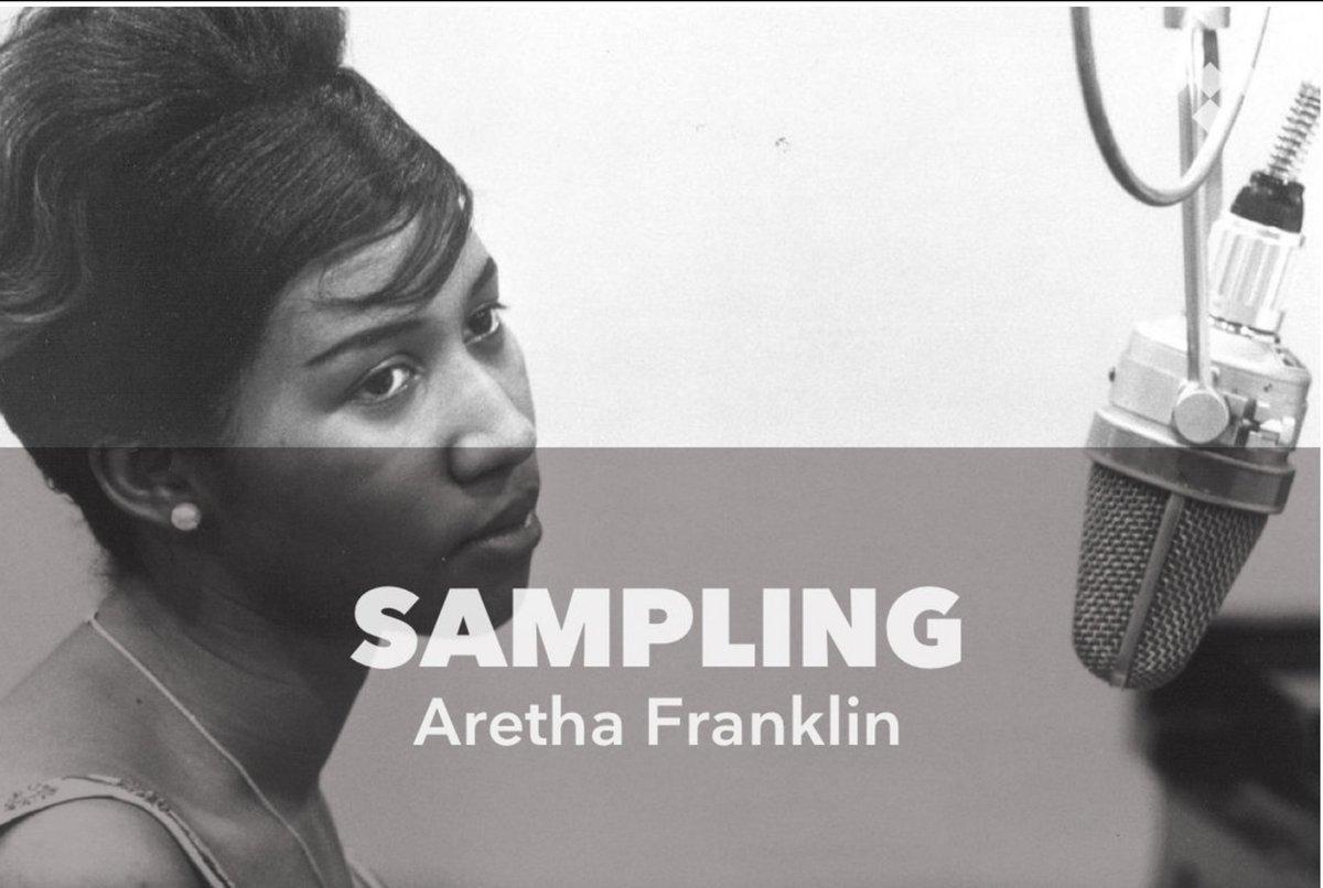 Sampling: Aretha Franklin tdl.sh/0ZYdk2 #TIDAL